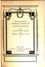 Thomas Moore s Complete Poetical Works PDF