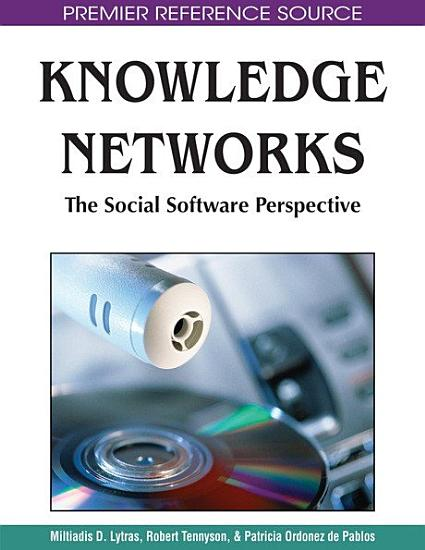 Knowledge Networks  The Social Software Perspective PDF