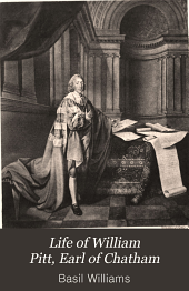 Life of William Pitt, Earl of Chatham: Volume 2