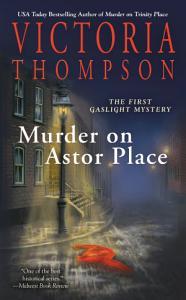 Murder on Astor Place Book