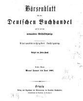Börsenblatt für den deutschen Buchhandel Leipzig: bbb : Fachzeitschr. für Verlagswesen u. Buchhandel. 1867, 1