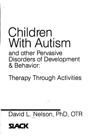 Children with Autism and Other Pervasive Disorders of Development   Behavior PDF