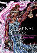 Criminal Error