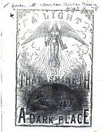 A Light that Shineth in a dark place (Report for 1874).