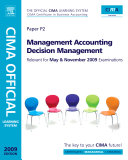 CIMA Official Learning System Management Accounting Decision Management PDF