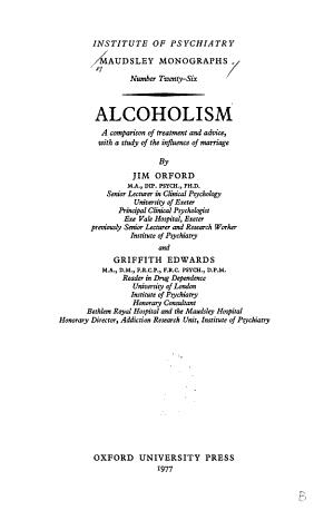 Maudsley Monographs