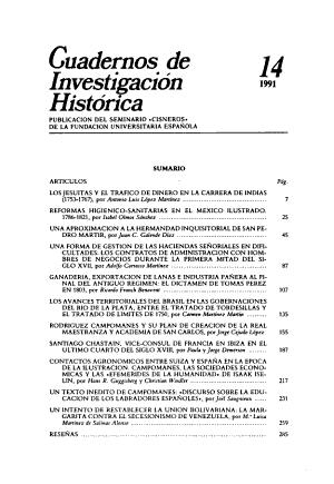 Cuadernos de investigaci  n hist  rica PDF