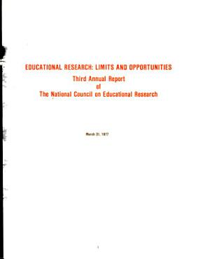 Annual Report of the National Council on Educational Research PDF