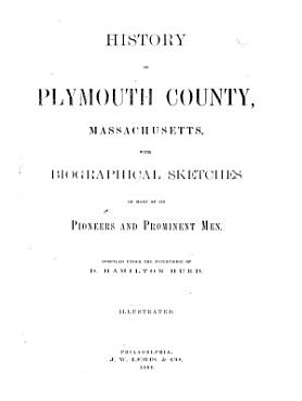 History of Plymouth County  Massachusetts PDF