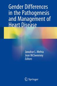 Gender Differences in the Pathogenesis and Management of Heart Disease