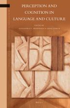 Perception and Cognition in Language and Culture PDF