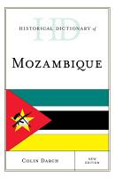 Historical Dictionary of Mozambique PDF