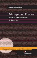 Prinzeps und Pharao PDF