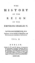 The History of the Reign of the Emperor Charles V  Etc PDF