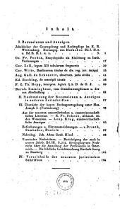 Jahrbücher der gesammten deutschen juristischen Literatur: Band 4