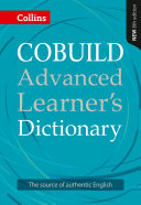 COBUILD Advanced Learner   s Dictionary KINDLE ONLY EDITION PDF