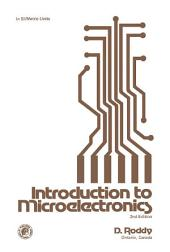 Introduction to Microelectronics: Edition 2
