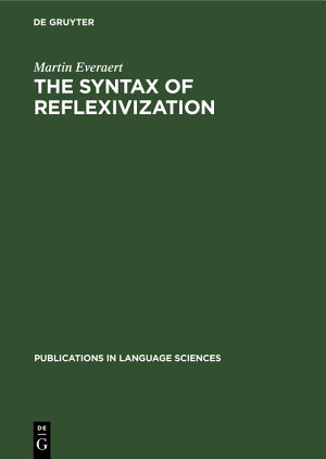 The Syntax of Reflexivization