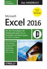 Microsoft Excel 2016     Das Handbuch PDF