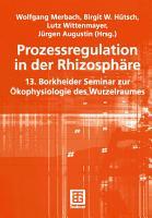 Prozessregulation in der Rhizosph  re PDF
