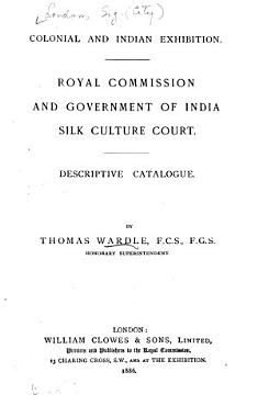 Royal Commission and Government of India Silk Culture Court PDF