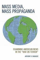 Mass Media  Mass Propaganda PDF