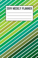 2019 Weekly Planner  Colorful Candy Stripes PDF