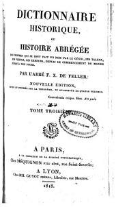 Dictionnaire historique: C-E