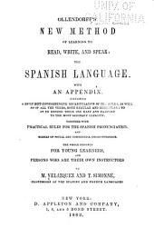 Ollendorff's New Method of Learning to Read, Write, and Speak : the Spanish Language
