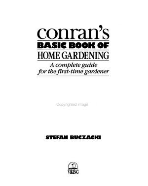 Conran s Basic Book of Home Gardening