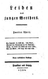 Leiden des jungen Werthers: Zweiter Theil, Band 2