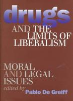 Drugs and the Limits of Liberalism PDF