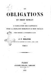 Les Obligations en Droit Romain