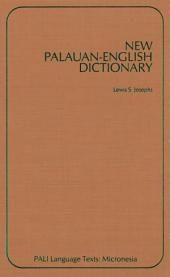 New Palauan-English Dictionary