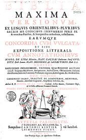 Biblia maxima versionum ex linguis orientalibus,... Cum annotationibus, Nicol. de Lyra,... Authore R. P. Ioanne de La Haye,... Omnia novemdecim voluminibus comprehensa