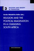 Religion and the Political Imagination in a Changing South Africa PDF