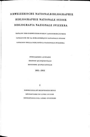 Elenco del libro svizzero PDF