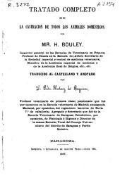 Tratado completo de la castración de todos los animales domésticos
