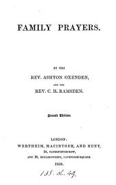 Family prayers, by A. Oxenden and C.H. Ramsden