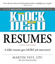 Knock  em Dead Resumes PDF