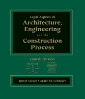 Legal Aspects of Architecture  Engineering   the Construction Process PDF