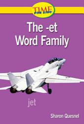 The -et Word Family