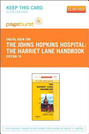 The Harriet Lane Handbook Pageburst on VitalSource Access Code