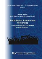 Fu  ballfans  Fantum und Forschung PDF