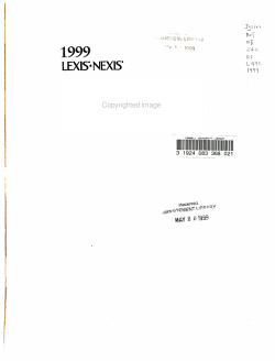 Directory of Online Services PDF