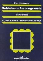 Betriebsverfassungsrecht PDF