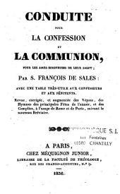 Conduite pour la confession et la communion pour les âmes soigneuses de leur salut