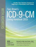 ICD 9 CM Coding Handbook with Answers 2015 Book