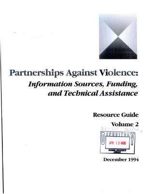 Partnerships Against Violence PDF