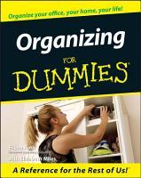 Organizing For Dummies PDF